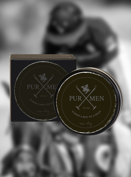 PUR MEN raw clay